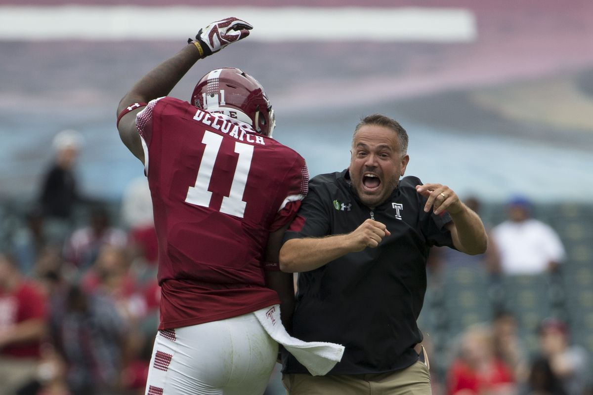 Temple S Matt Rhule To Be Named New Baylor Head Football