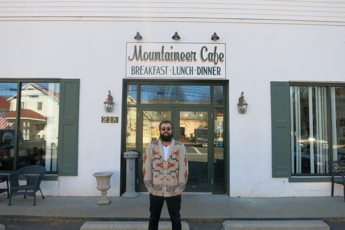 Shane Cody at the Mountaineer Cafe.