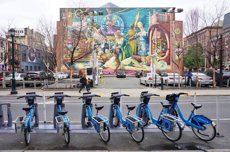 Philadelphia's Indego bike share system