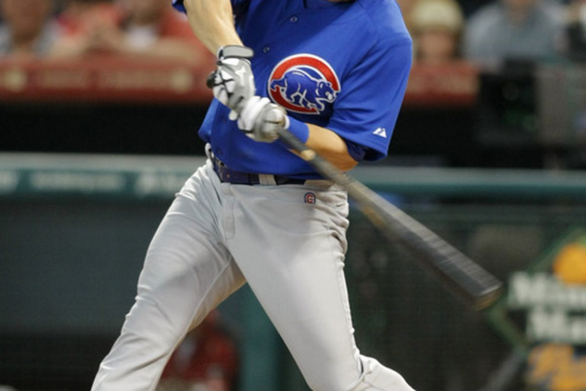 Adrian Cardenas was 2 for 3 with a double and a triple in an Iowa loss tonight. Credit: Brett Davis-US PRESSWIRE