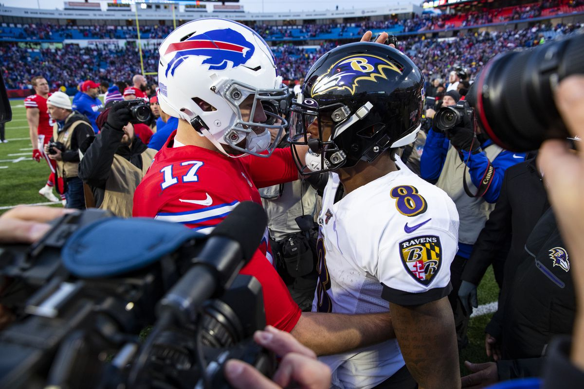 Ravens Vs Bills Odds Opening Point Spread For The Divisional Round Of The 2021 Nfl Playoffs Draftkings Nation