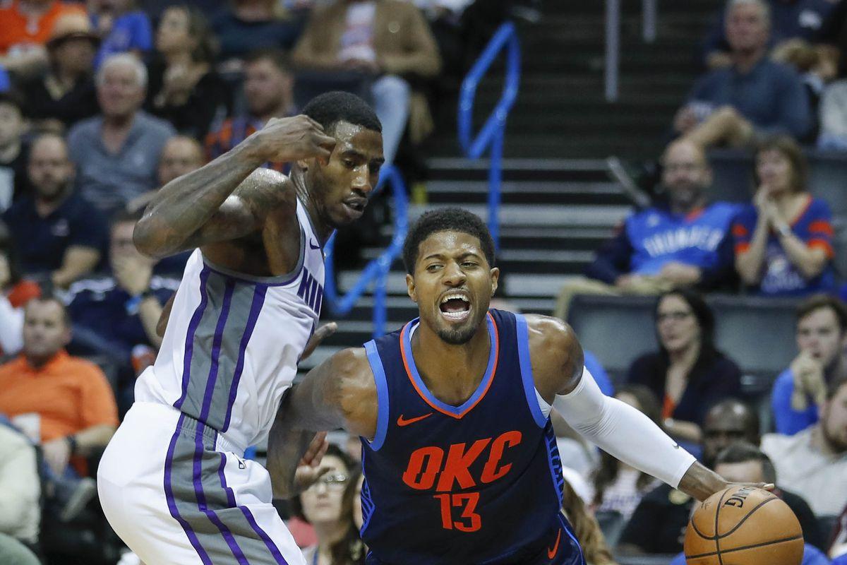 NBA: Sacramento Kings at Oklahoma City Thunder