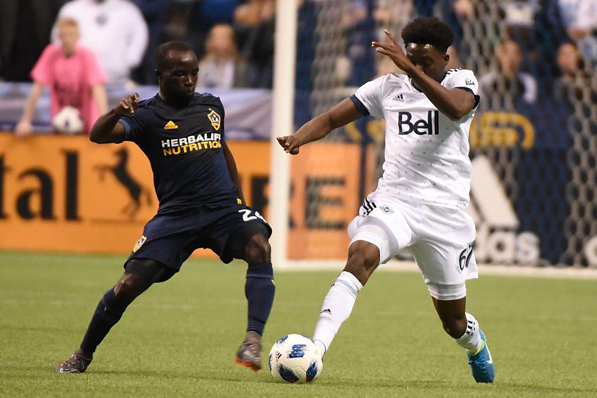 MLS: Los Angeles Galaxy at Vancouver Whitecaps