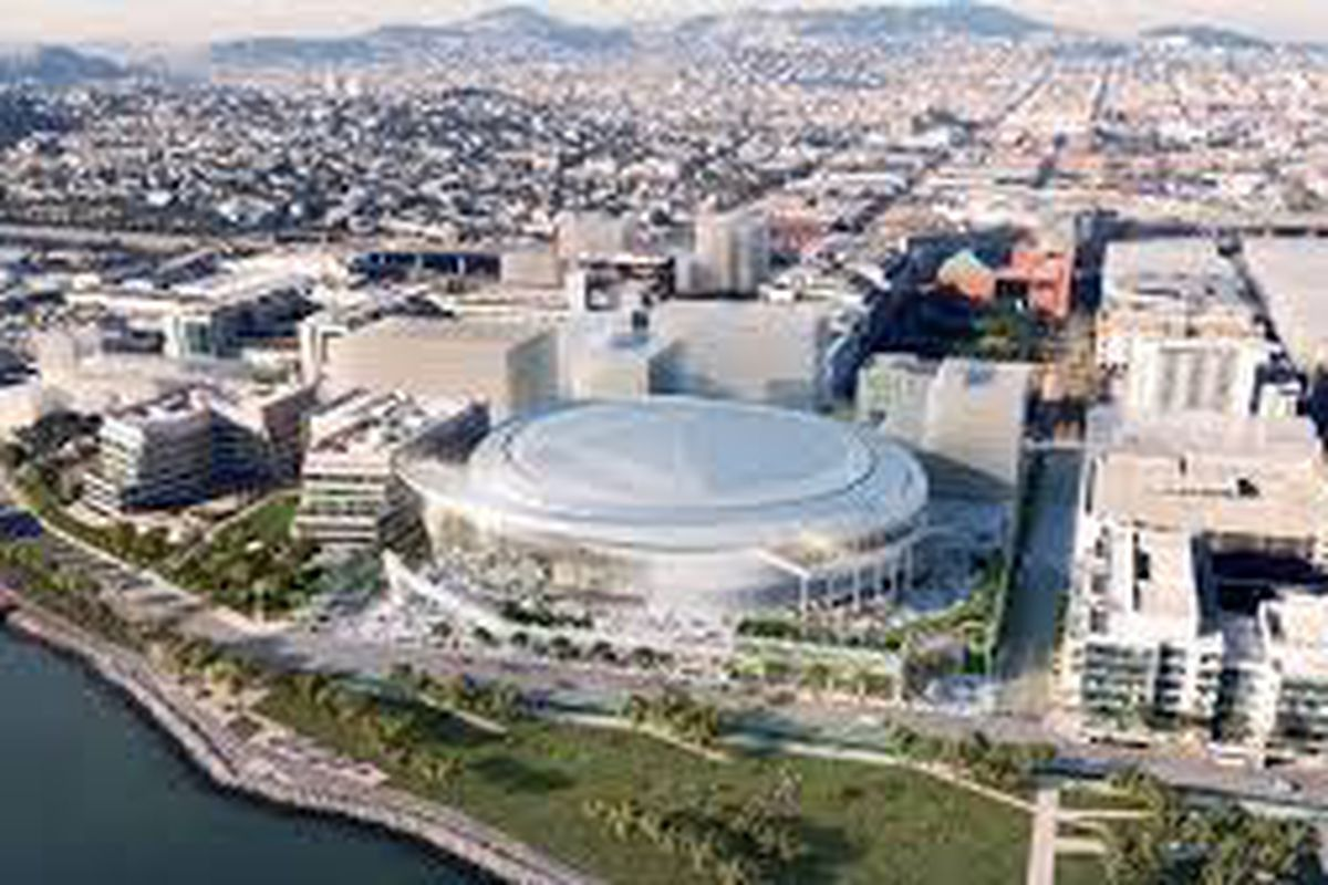 The Warriors' environmental impact review for its Mission Bay arena gained critical approval Tuesday.