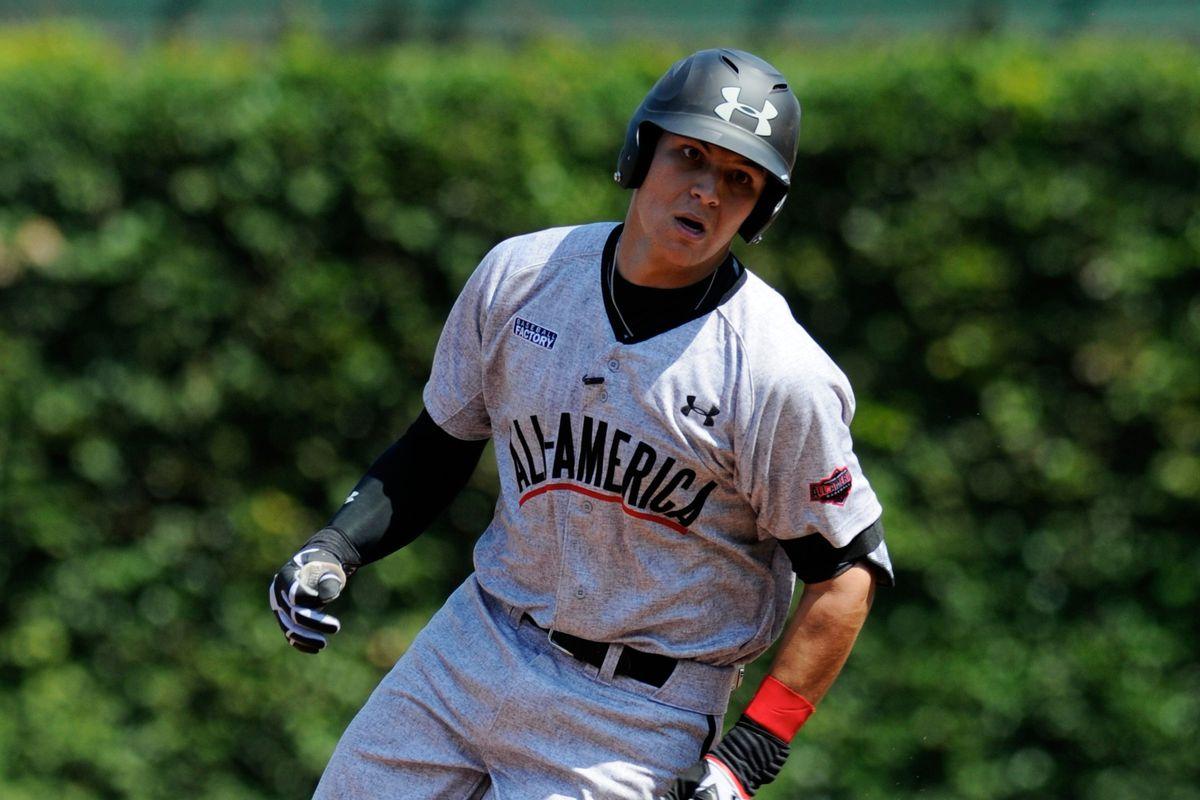 Alex Jackson, future first round pick of the MLB draft