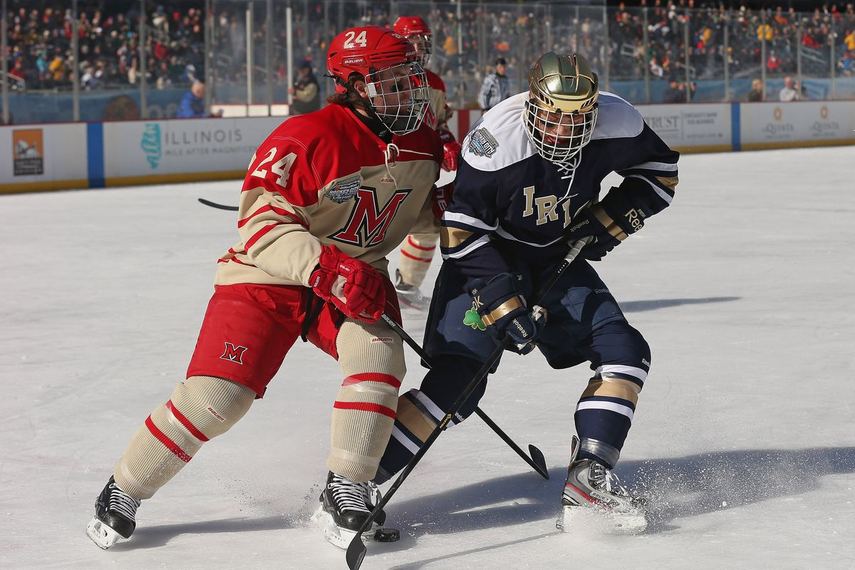 Miami faces another ND on the ice this weekend