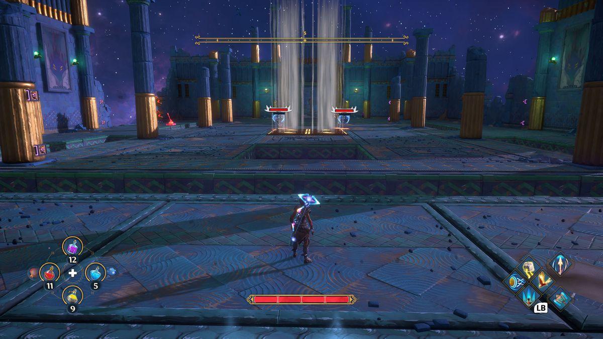 The Arena of Heroism Vault of Tartaros from Immortals Fenyx Rising