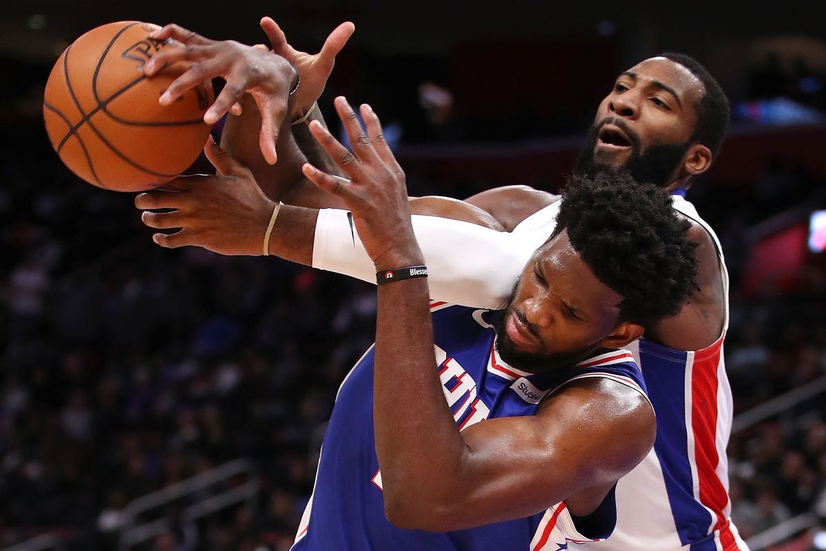 75088f312d37 Andre Drummond vs Joel Embiid — where both sides lose the battle and the war