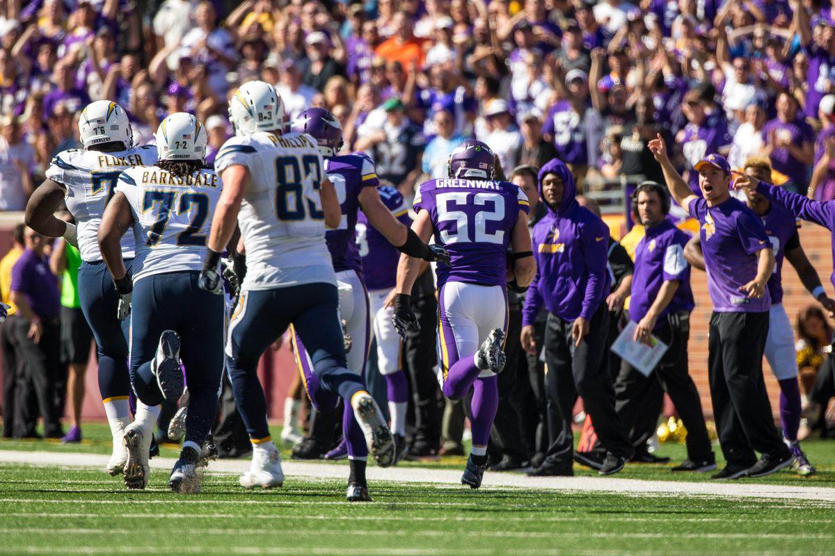 NFL: San Diego Chargers at Minnesota Vikings
