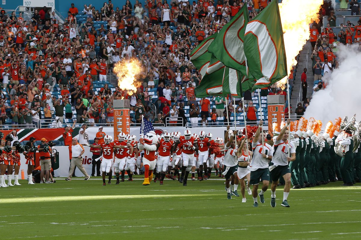 Miami Hurricanes Game Times announced for North Carolina, Bethune Cookman games