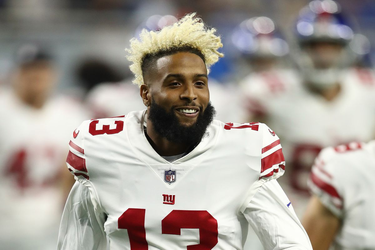 bc3b2c75b How Odell Beckham Jr. s stats and salary stack up against other star NFL  receivers. New ...