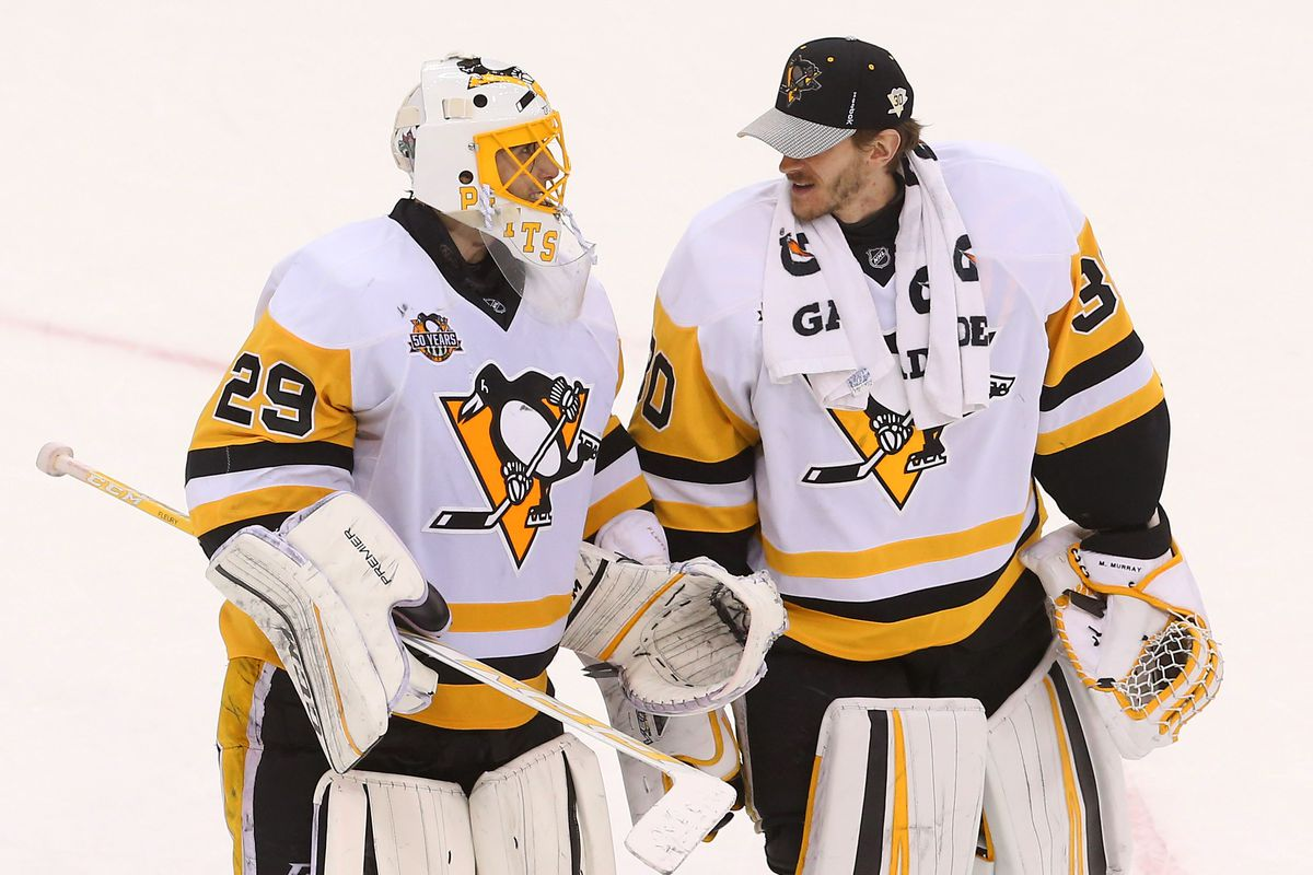 more photos 9350a 757e6 The Penguins are looking to deal Marc-Andre Fleury before ...