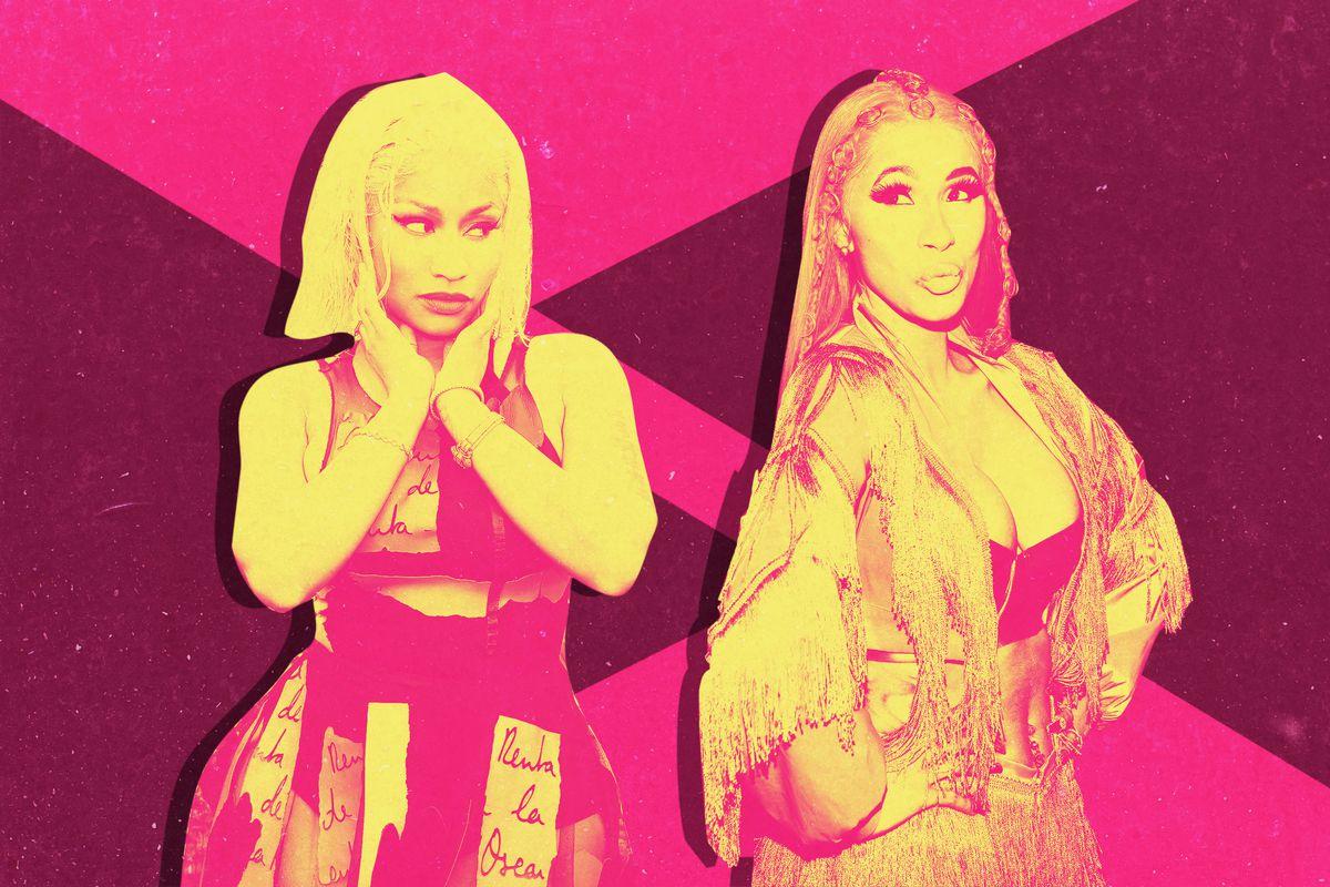 Nicki Minaj and Cardi B
