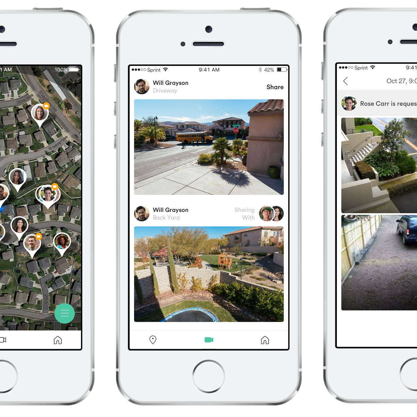 Vivint's Streety app lets you view your neighbors' smart