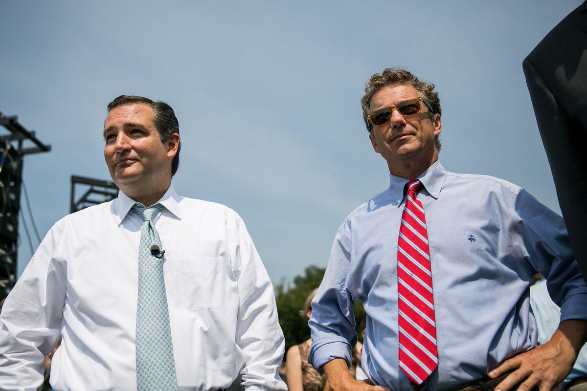 Senators Ted Cruz and Rand Paul