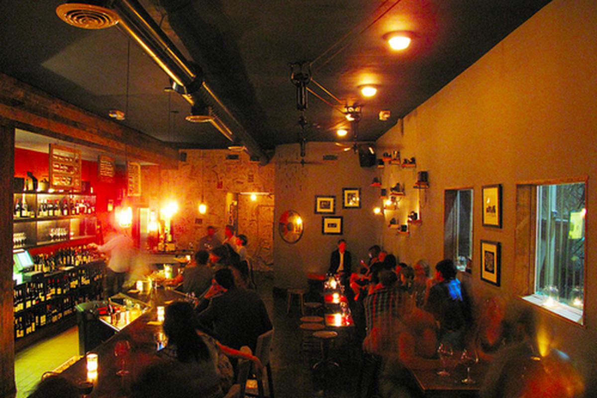 Inside Bar Covell, Hollywood.