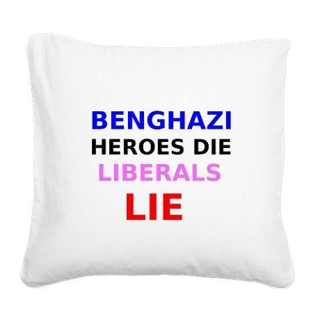 benghazi pillow