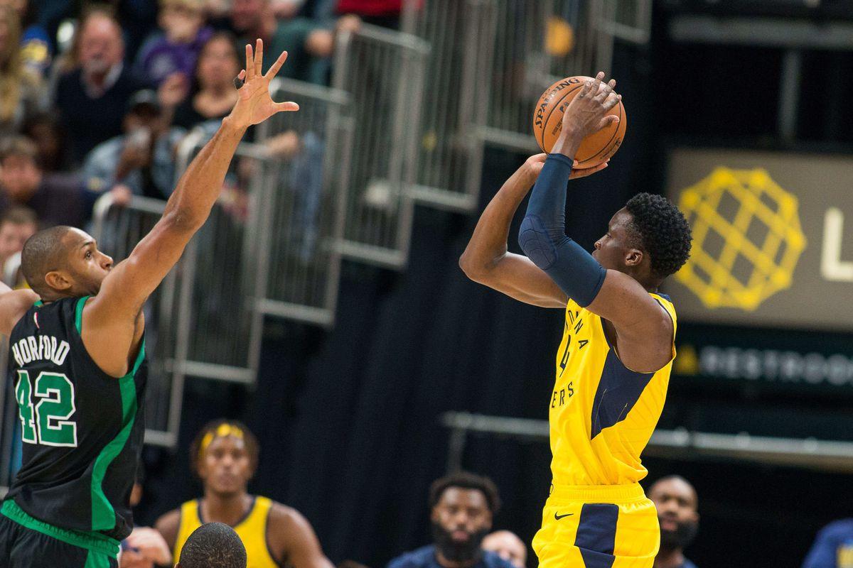 NBA: Boston Celtics at Indiana Pacers