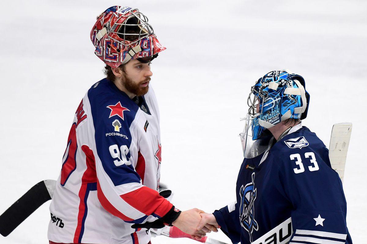 Kontinental Hockey League: Admiral Vladivostok vs CSKA Moscow