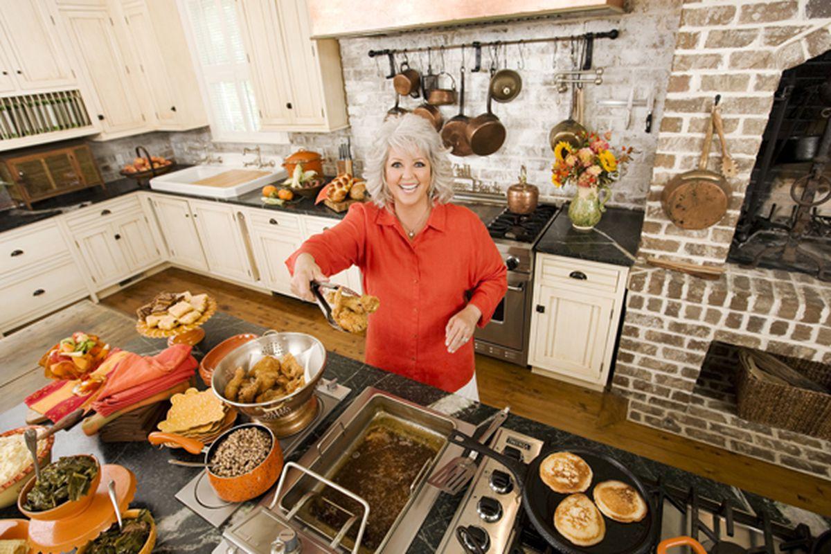 Paula Deen's home kitchen, Savannah, GA