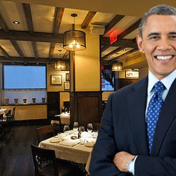 """<a href=""""http://ny.eater.com/archives/2014/04/president_barack_obama_dines_at_danny_meyers_maialino.php"""">President Barack Obama Dines at Danny Meyer's Maialino</a>"""