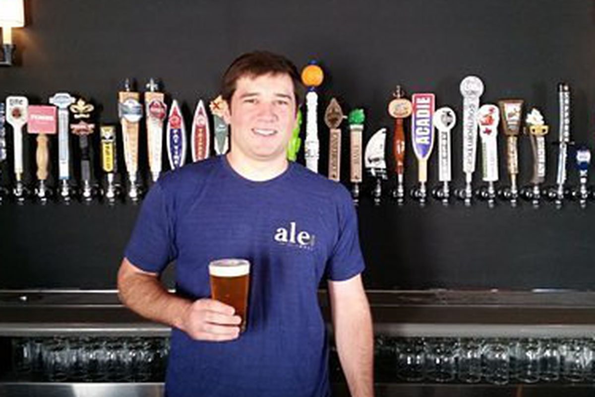Ale's General Manager Pat Winters [Photo: Nora McGunnigle