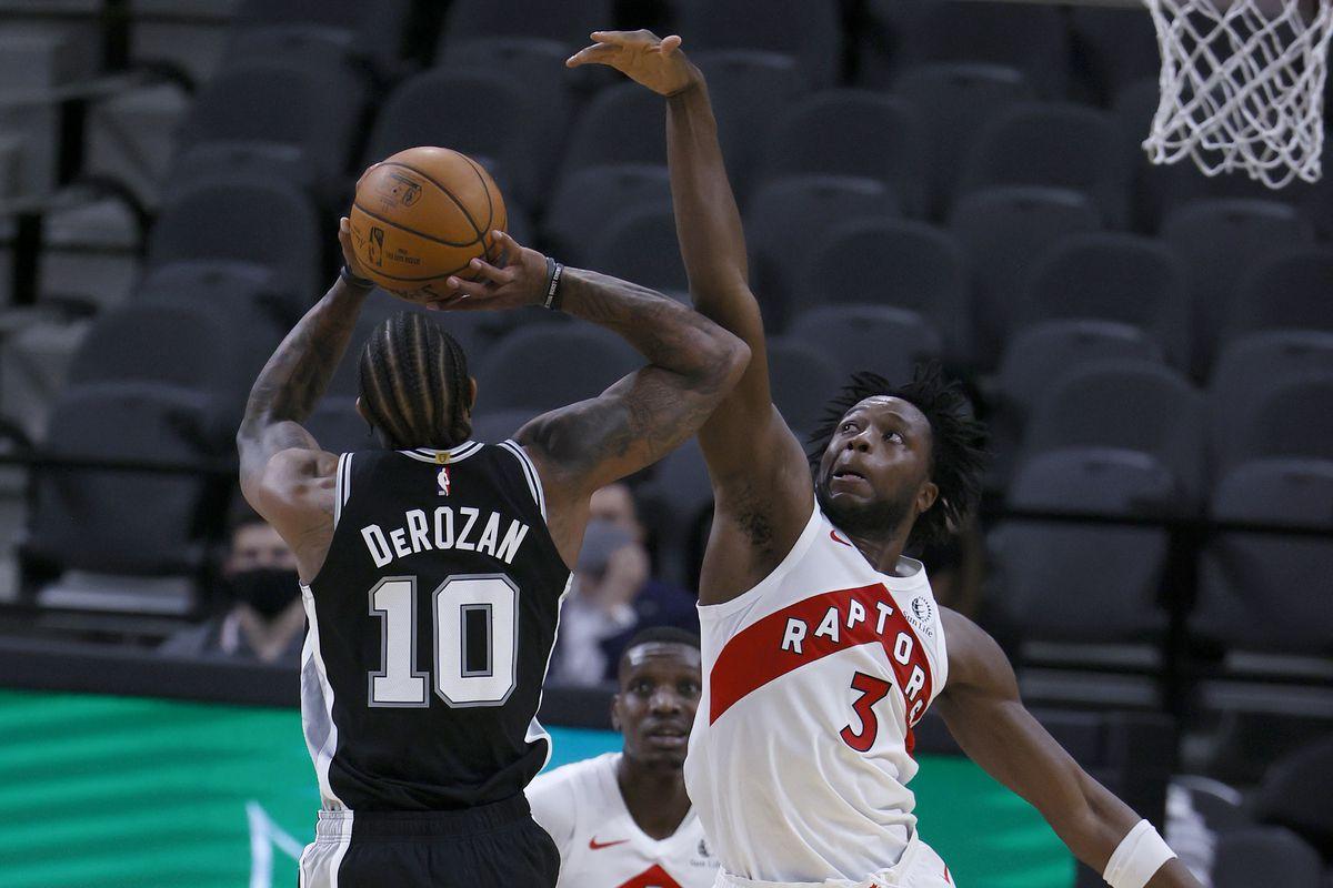 Five thoughts recap: San Antonio Spurs 114, Toronto Raptors 109, DeMar DeRozan, OG Anunoby