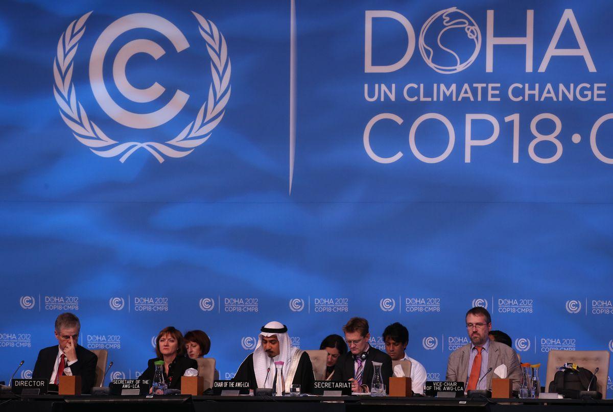 doha climate talks 2012