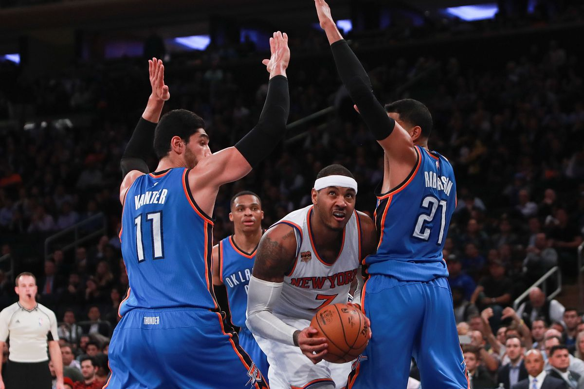 2394ef8c5d6f Would Carmelo Anthony Be a Good Fit on the Thunder  - The Ringer