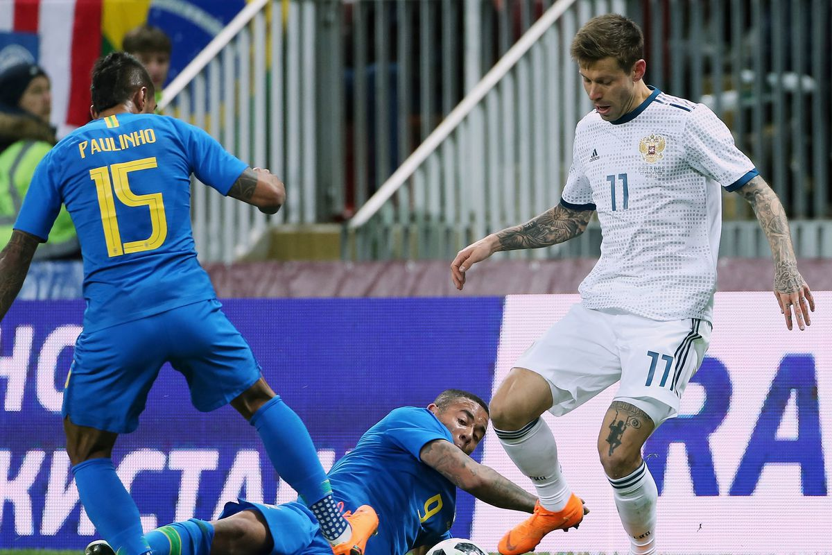 Russia v Brazil - International Friendly