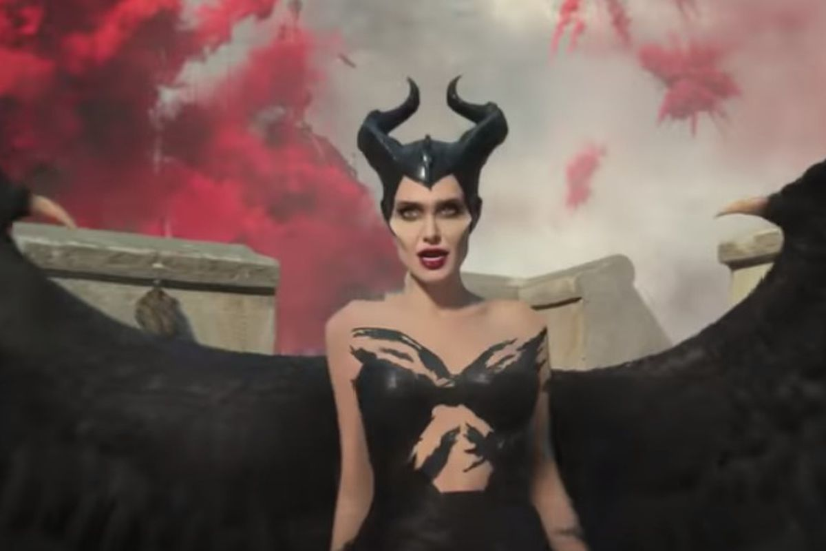 Maleficent Embraces Her Bad Side In New Maleficent