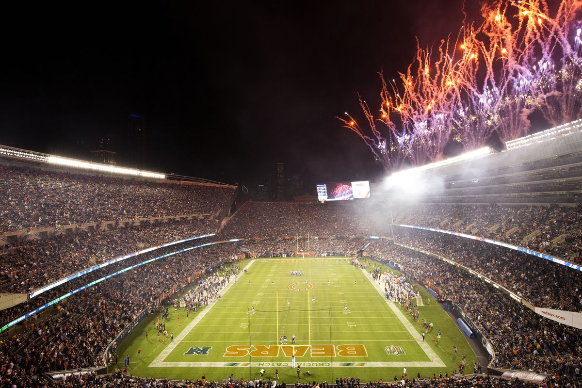 Soldier Field probably won't be packed like this anytime soon.