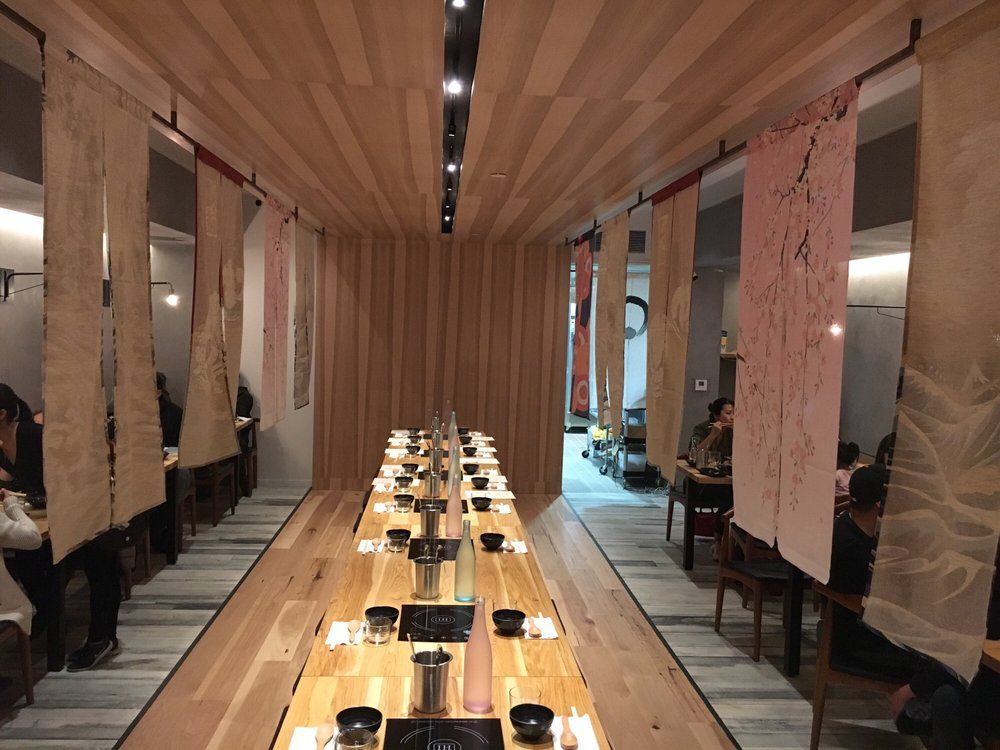 Nabe's dining room