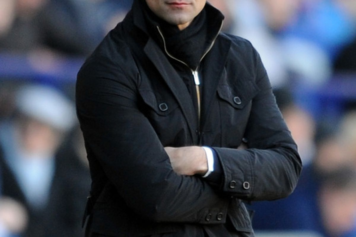 Roberto Martinez, being praised for a job that he is doing well.