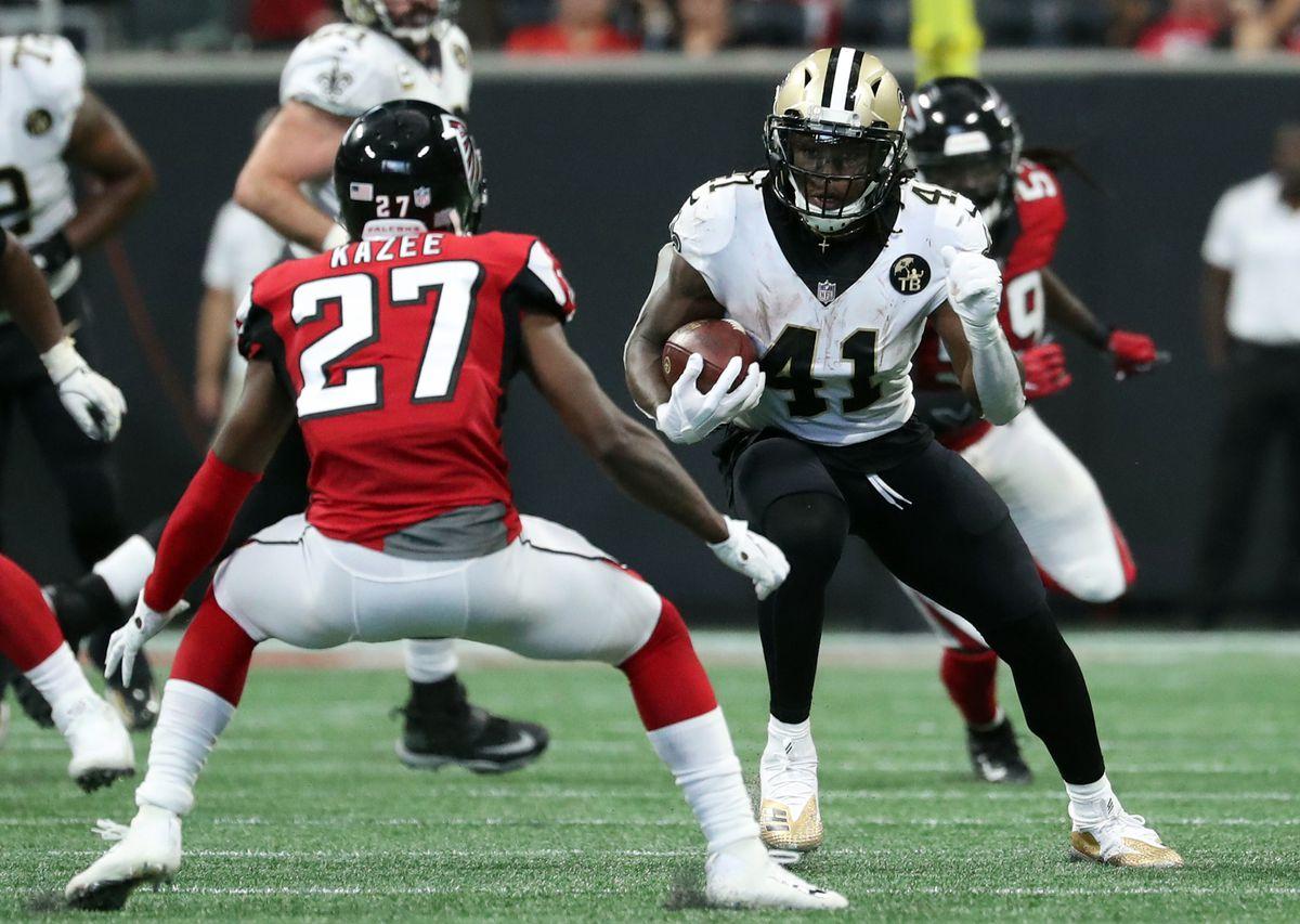 NFL: New Orleans Saints at Atlanta Falcons