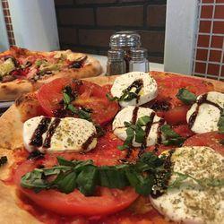 Ti Amo Wood Fired Pizza in Bountiful serves authentic Italian pizza.