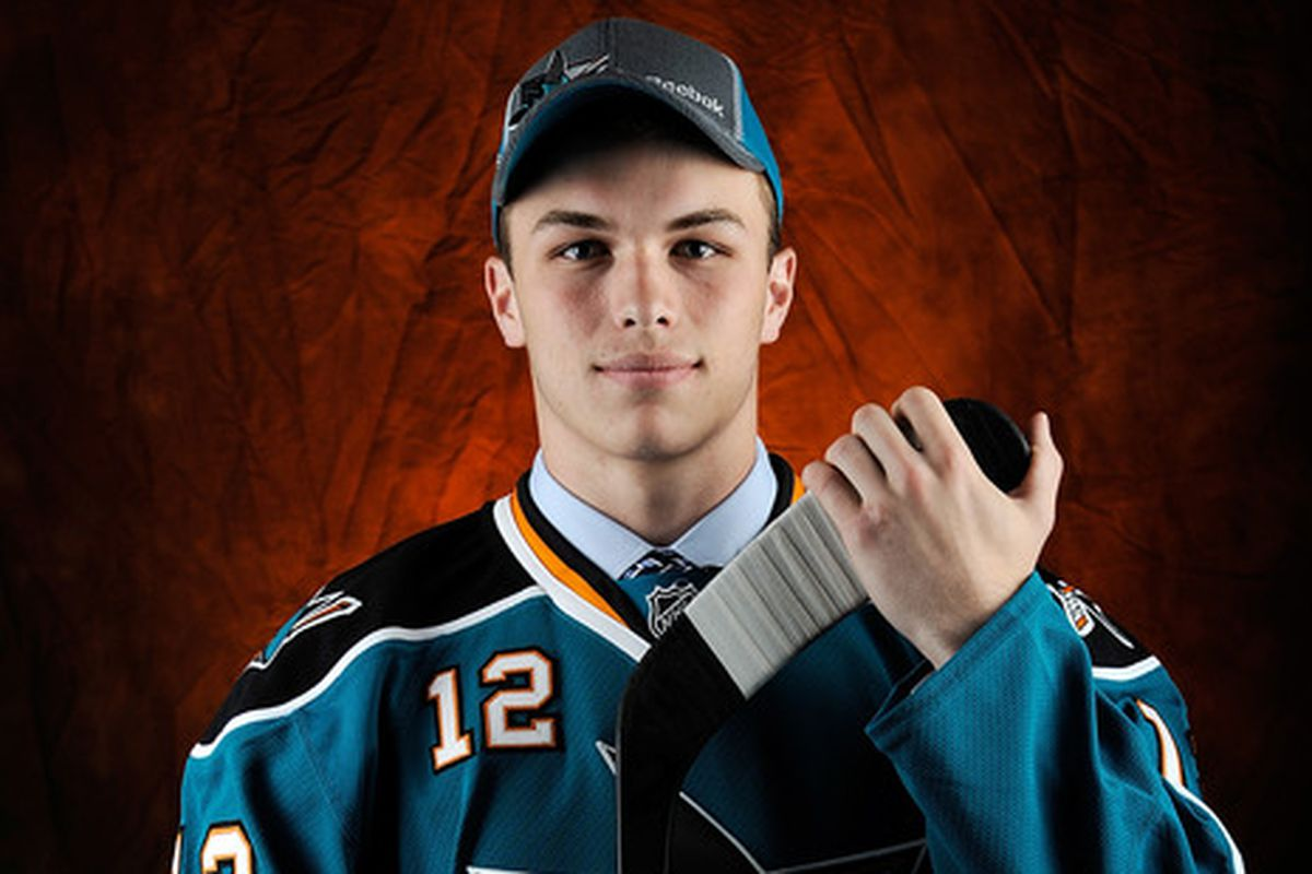 San Jose Sharks prospect Danny O'Regan had a goal for the Terriers.