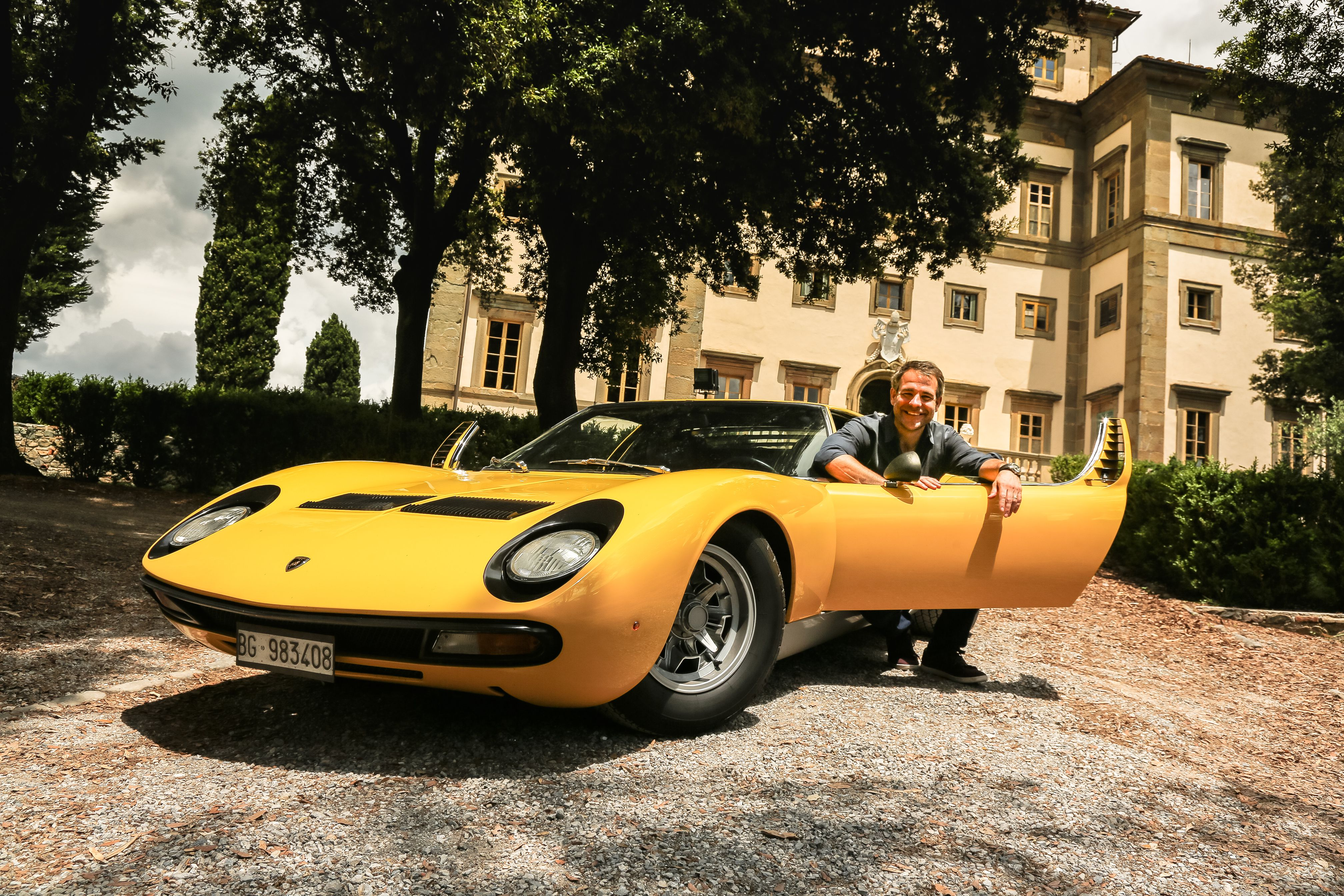 car bliss mounted single miura home sv d poster rear driving classic lamborghini chasers post s