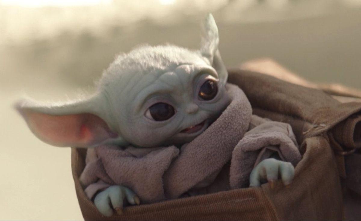 baby yoda's ears flap in the wind in the Mandalorian season 2