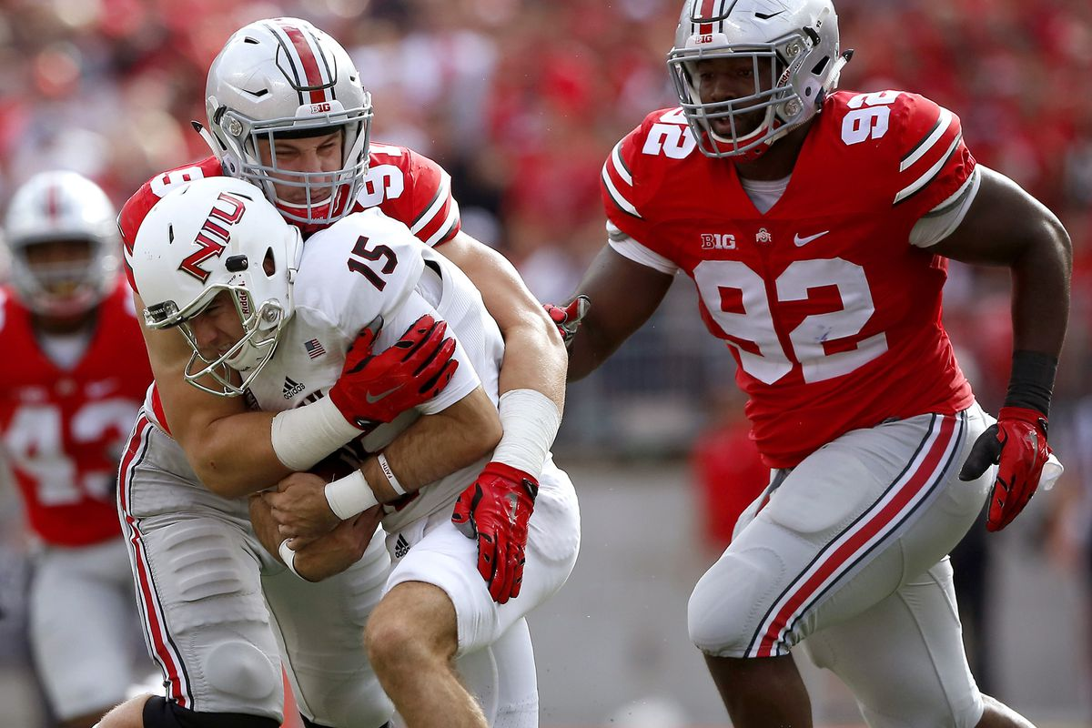 Ohio State's defense willed the Buckeyes to victory over Northern Illinois.