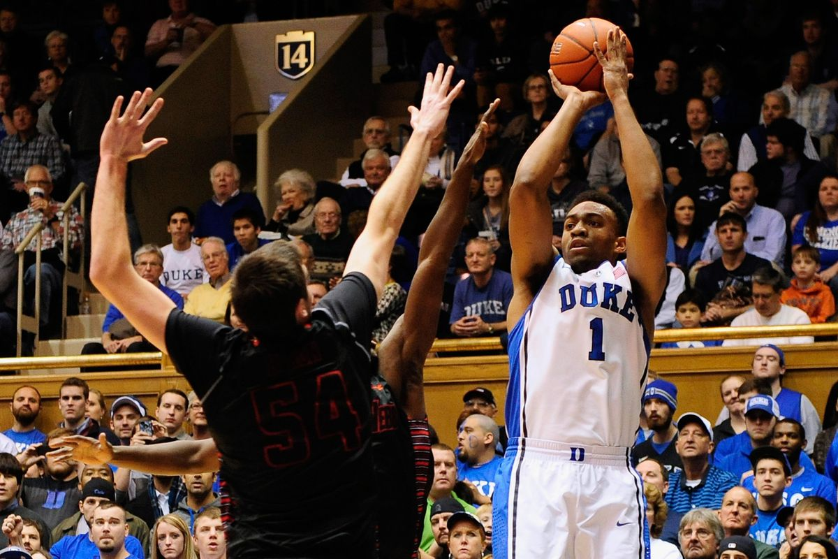 UCLA does not have an answer for Parker (above) or Hood, but does Duke have an answer for Adams, Lavine or Anderson?
