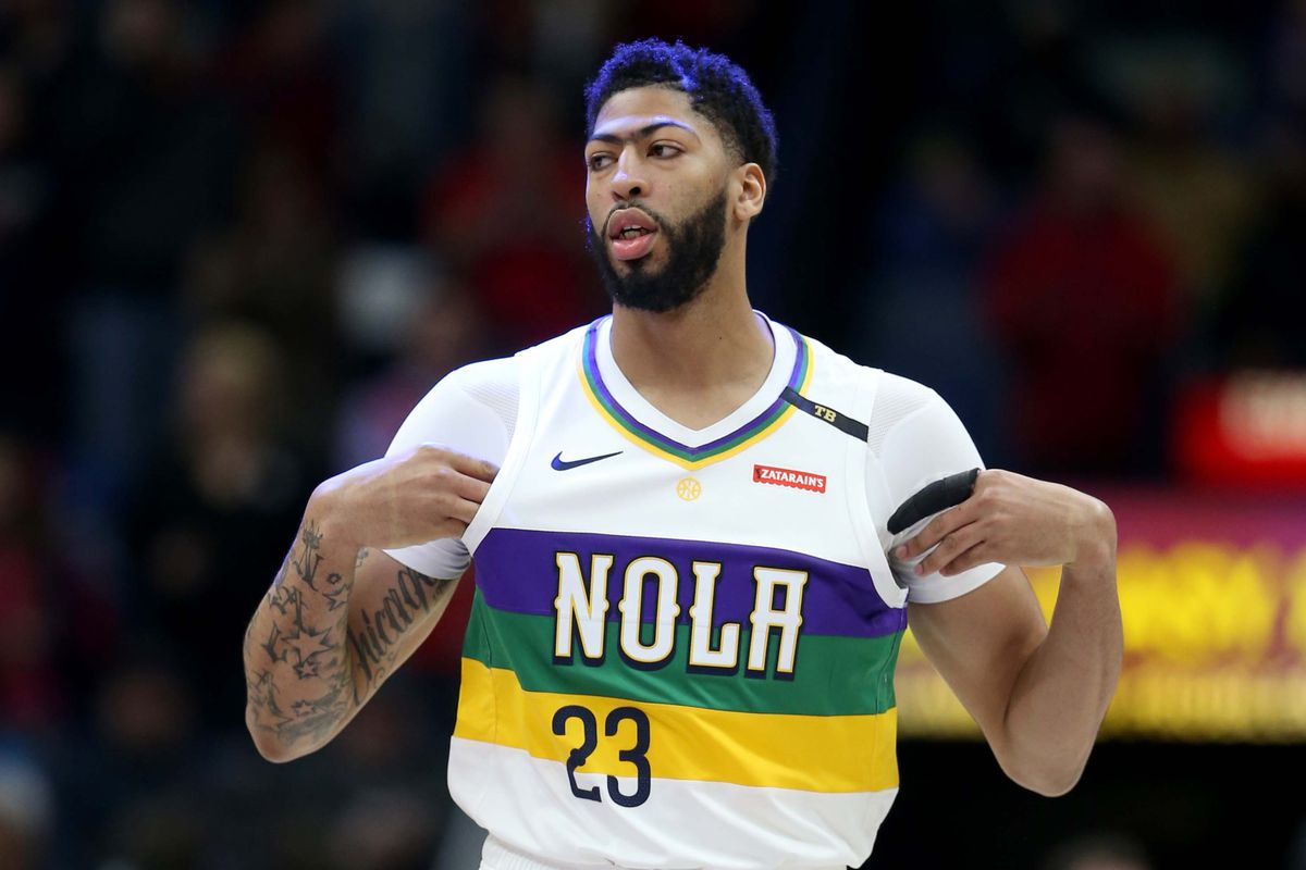 Anthony Davis denies not listing Celtics as preferred destination   All 29  other teams are on my list  0c2fb6b6c