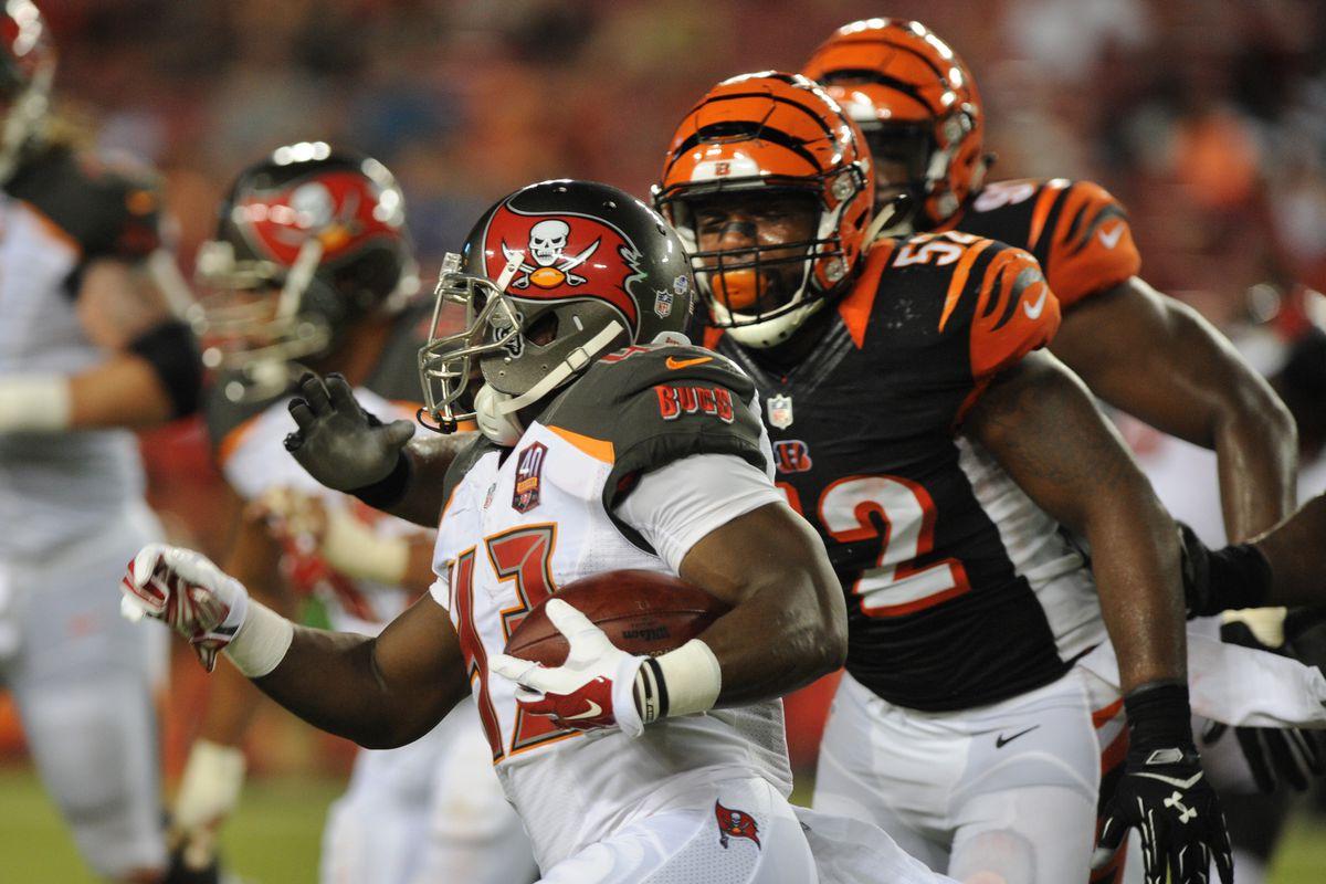 NFL Preseason Week 1  Cincinnati Bengals vs Tampa Bay Buccaneers ... 88b4fab9d1e