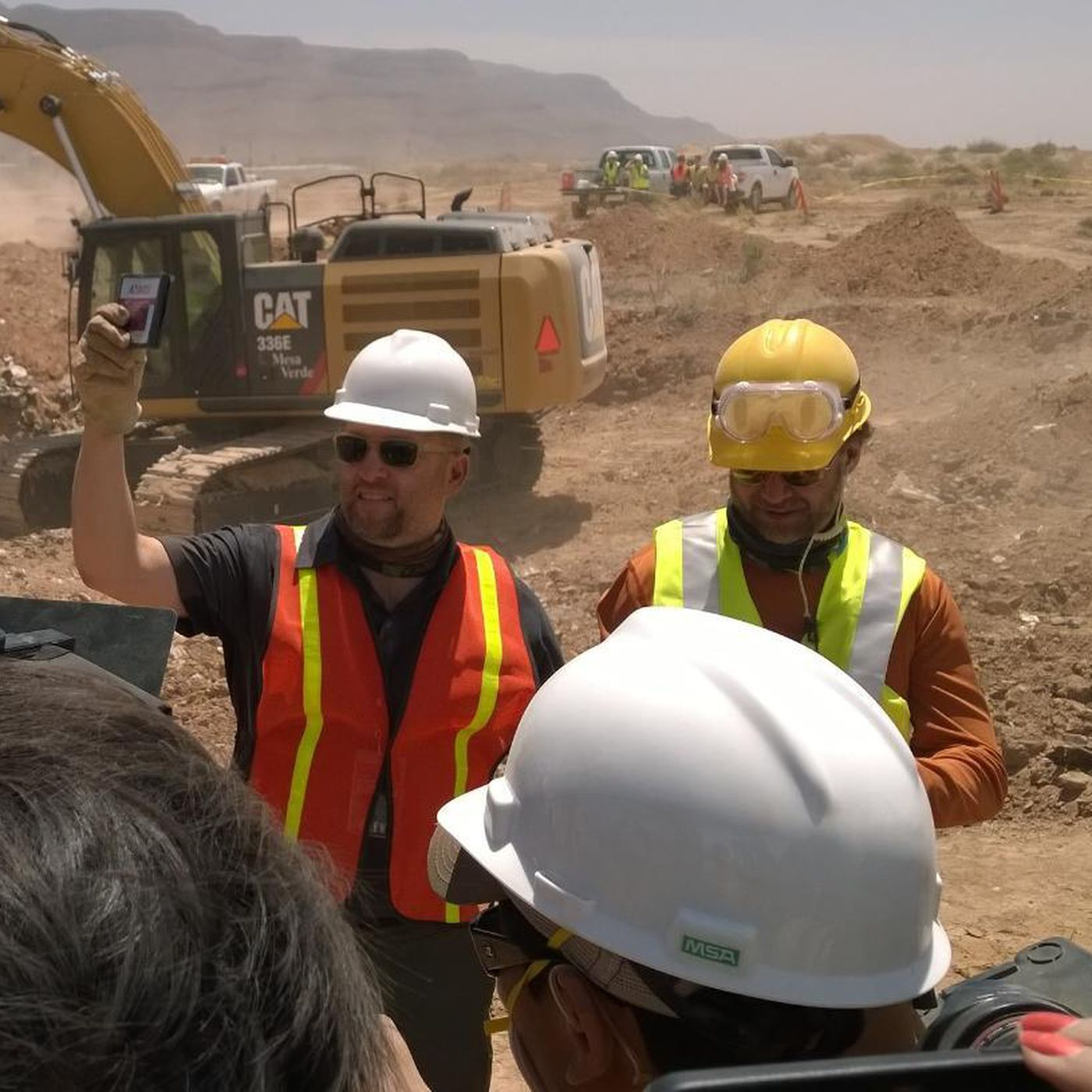 Construction workers unearth legendary cache of Atari games