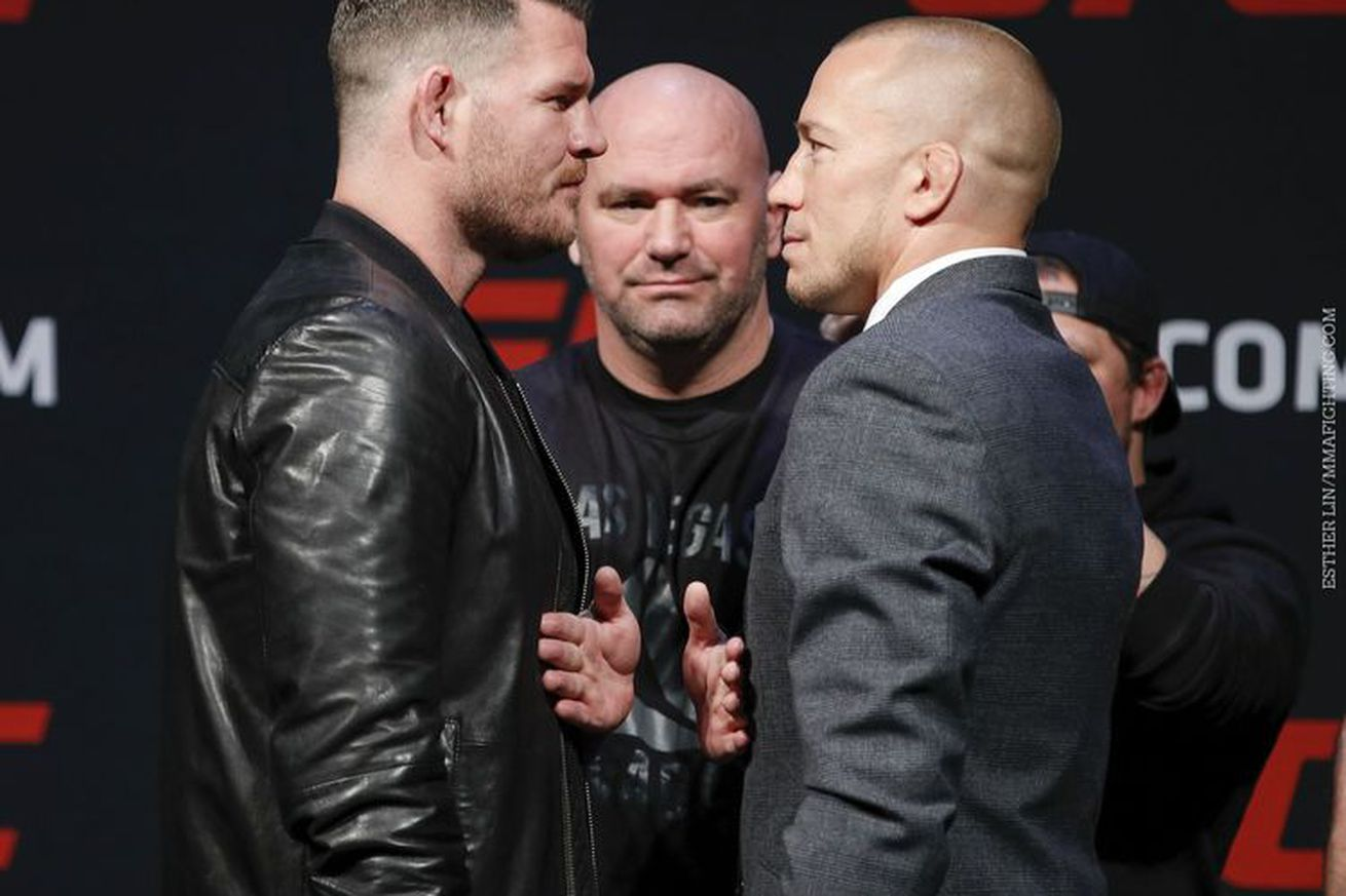 Fightweets: Will Michael Bisping vs. Georges St Pierre sell?