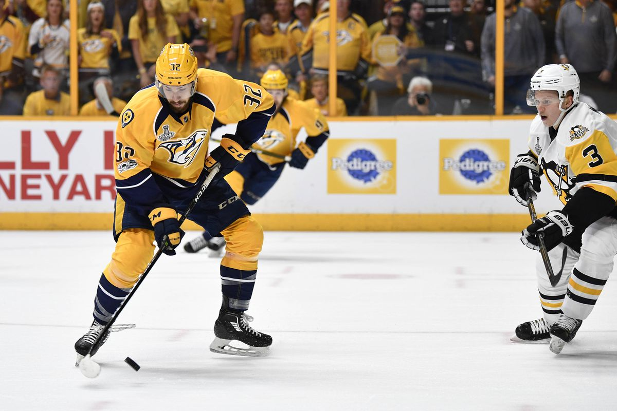 Nashville leaning heavily on defense corps against Penguins