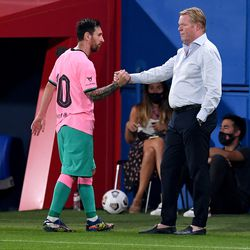 A handshake from the boss