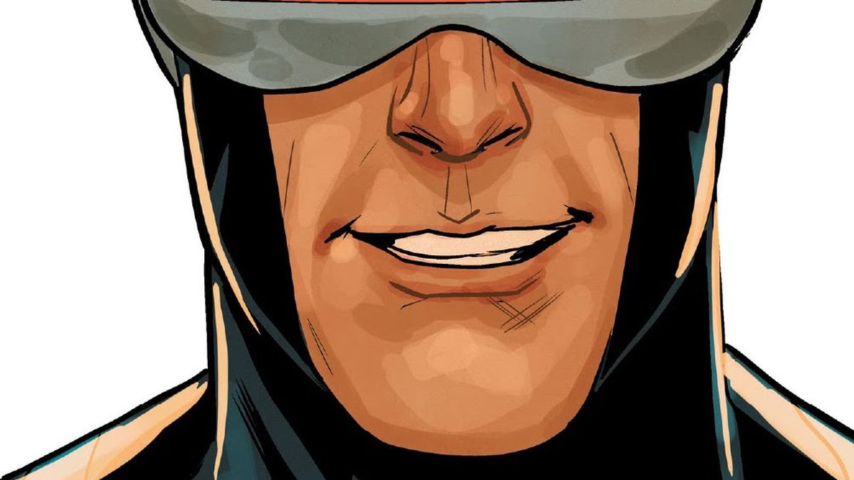 """""""We're going to let the people vote,"""" says a grinning Cyclopes in X-Men #16, Marvel Comics (2021)."""