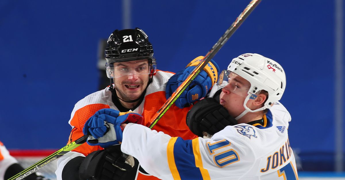 Buffalo Sabres shut out by Philadelphia Flyers in consecutive days - Die By The Blade