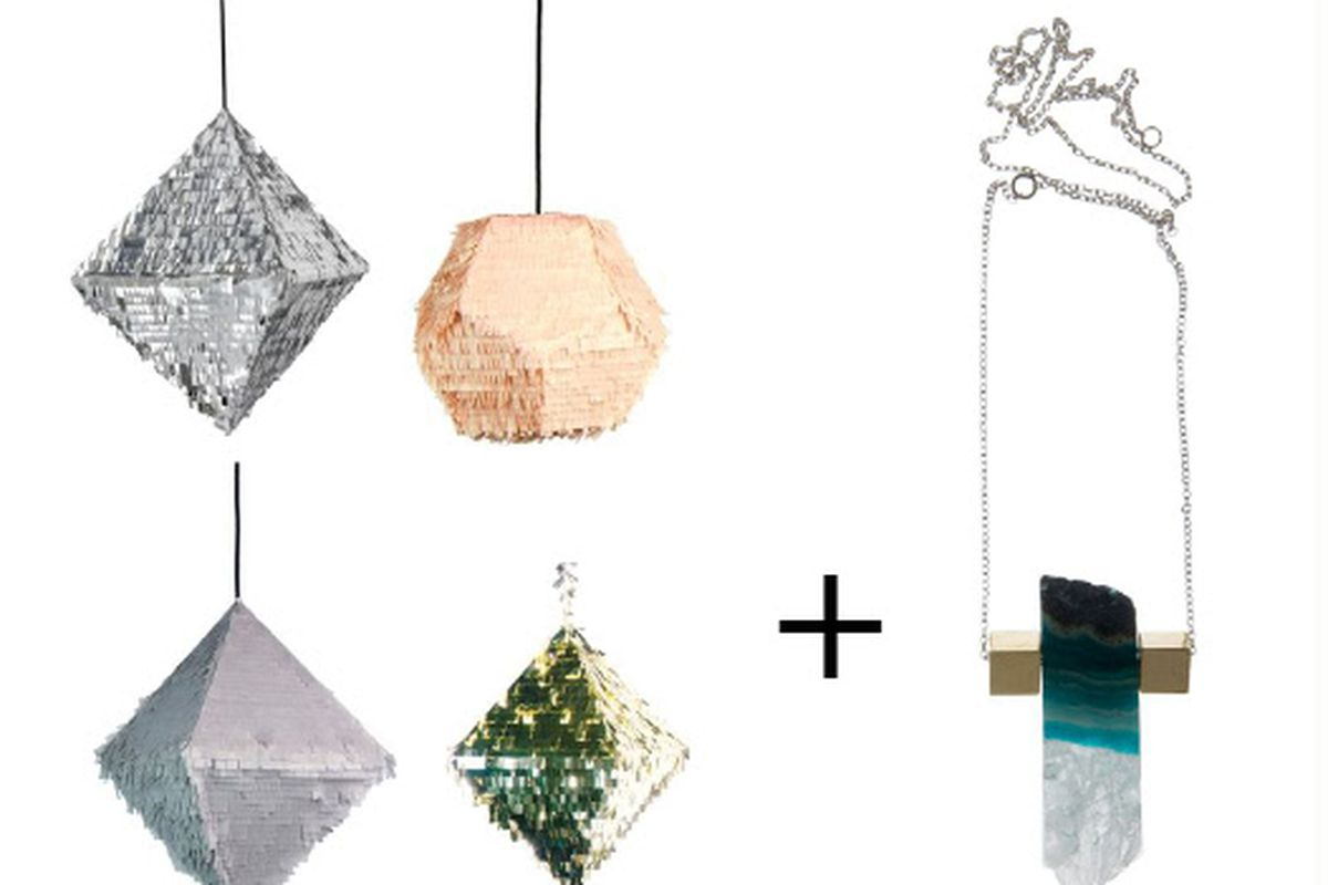 Pinatas by Confetti System + jewelry from designers like AESA = Space 15 Twenty's next pop-up